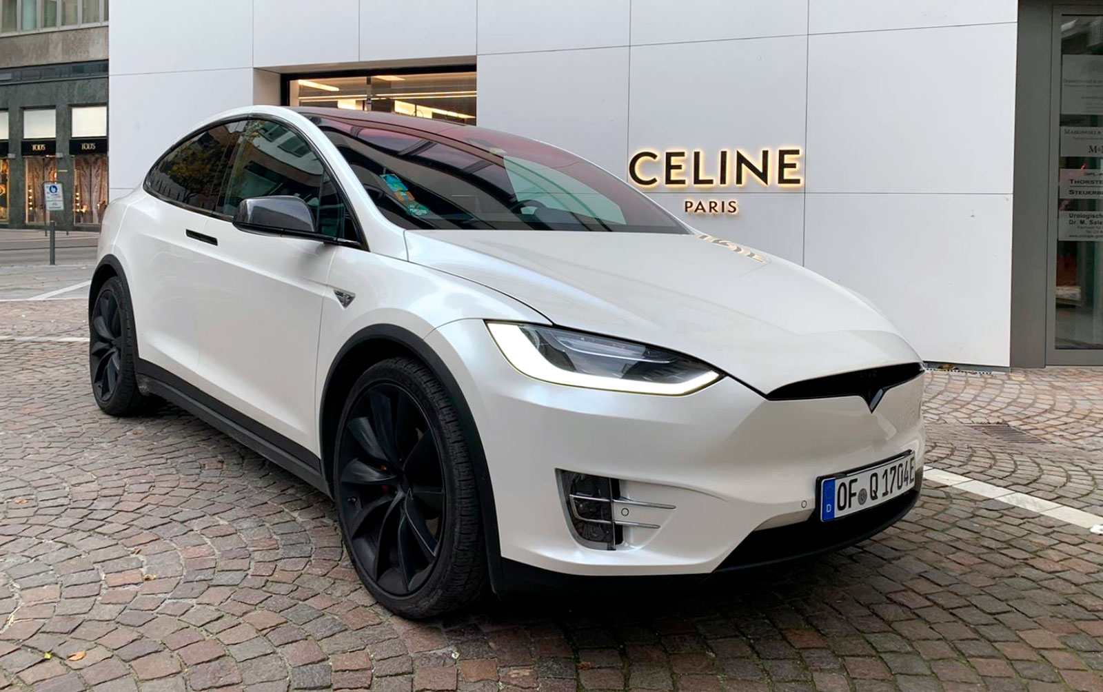 Tesla Verleih Model X